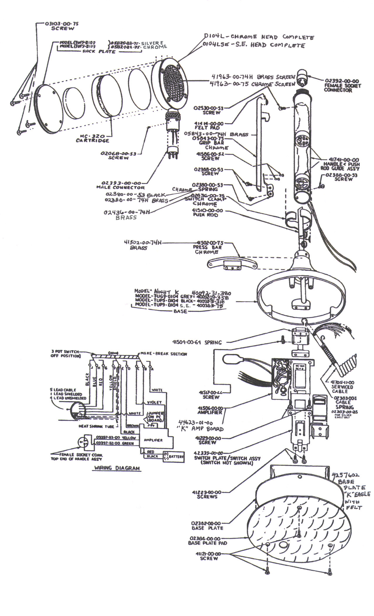 astatic silver eagle wiring diagram   35 wiring diagram